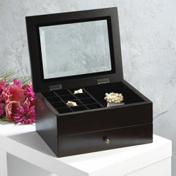 Mahogany Pull-out Drawer Jewelry Box