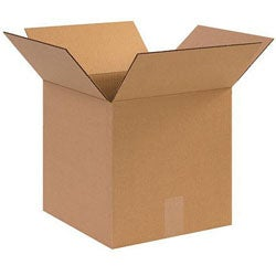 Corrugated 6x6-inch Shipping Boxes (Case of 25)