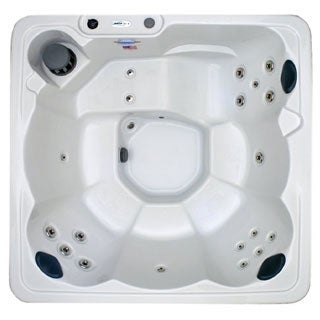 Hudson Bay Spas 6-person 19-jet Spa with Stainless Jets and  110V GFCI Cord Included