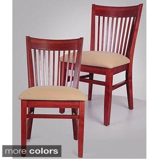 Metro Hyatt Tan Dining Chair (Set of 2)