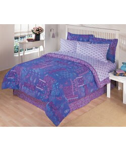 Gypsy Patch Twin Comforter Set - Thumbnail 0
