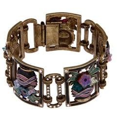 Sweet Romance Deco Jet Vases Bracelet