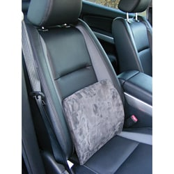 Memory Foam Grey Car Seat Lumbar Support