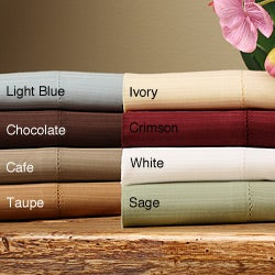 Woven Stripe 400 Thread Count Sheet Set