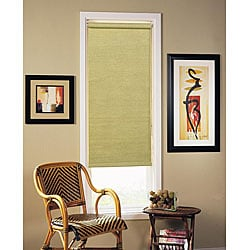 Woven Sage Roller Shade (25 in. x 72 in.)