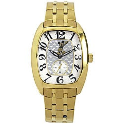 Disney Apex Retro Waving Mickey Goldplated Watch