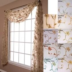 Fleur 6-yard Scarf Window Valance