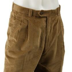 Austin Reed London Pleated Corduroy Men S Pants Overstock 3339695