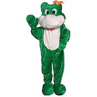 Adult Frog Mascot Costume