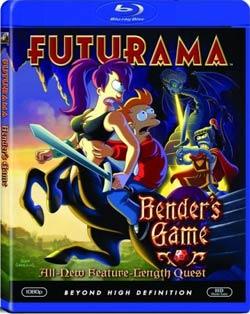 Futurama: Bender's Game (Blu-ray Disc)