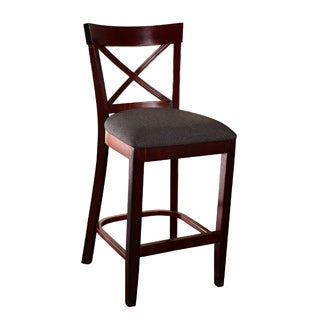 X-back Microfiber Seat Counter Stool
