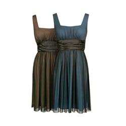 Onyx Nite Women's Matte Chiffon Evening Dress - Thumbnail 0
