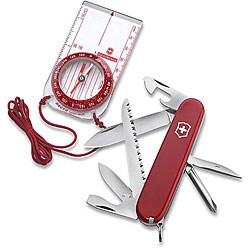 Swiss Army Knife Hiker with Bonus Compass - Thumbnail 0