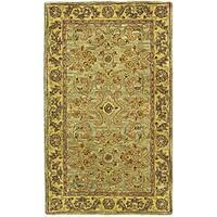 Safavieh Handmade Classic Kasha Gold Wool Runner (2'3 x 4')