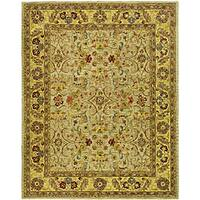 Safavieh Handmade Classic Kasha Gold Wool Rug - 5' x 8'