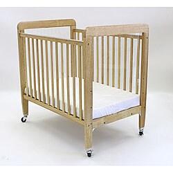 LA Baby Fixed Side Window Crib with Mattress