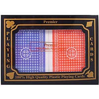 Plastic Premier Playing Cards (2 Decks)