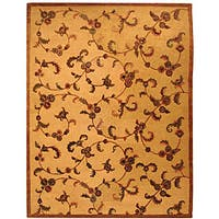 Safavieh Handmade Paradise Gold New Zealand Wool Rug - 8' x 10'