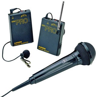 Wireless Lavaliere System with Additional Hand-Held Microphone