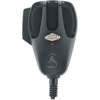 HighGear 4-Pin CB Microphone with 2 Transistor Amp