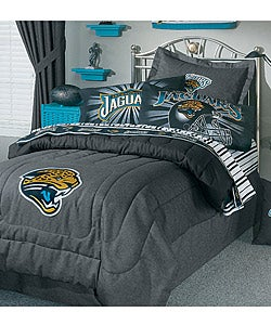 c66cf550 NFL Jacksonville Jaguars Comforter Set (Full) | Overstock.com Shopping -  The Best Deals on Kids Comforter Sets