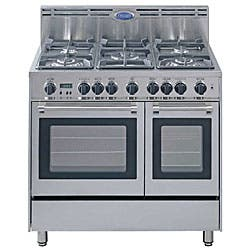 Stainless Steel 36 Inch Gas Range