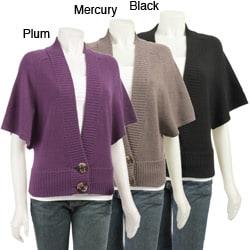 Shop Design History Women's Dolman-sleeve Cashmere Sweater ...