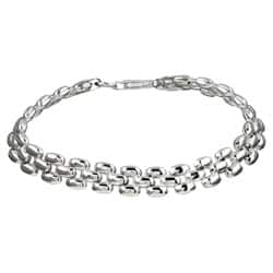 Sterling Silver 7-inch Panther Link Bracelet|https://ak1.ostkcdn.com/images/products/P11488645.jpg?impolicy=medium
