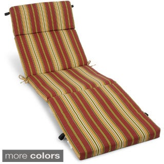 Blazing Needles 72-inch All-Weather Chaise Lounge Cushion