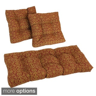 Outdoor Red 3-piece Cushion Set