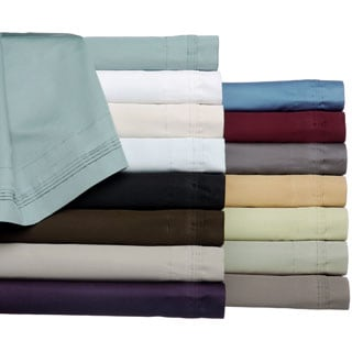 Superior 100-percent Premium Long-staple Combed Cotton 650 Thread Count Olympic Queen Deep Pocket Sheet Set