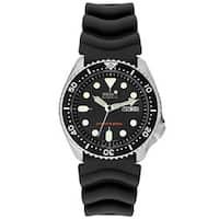 Seiko Men's Automatic SKX007K1 Black Rubber Watch