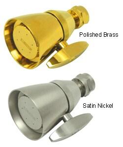 Victorian Satin Nickel Adjustable Showerhead