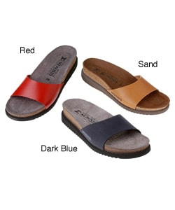 Mephisto Hanka Na Women's Basic Leather Sandal - Thumbnail 0