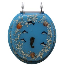 sea shell toilet seat. trimmer polyresin toilet seat sea shell