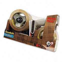 3M Dispenser and Packaging Tape (2 Rolls per Pack)