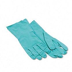 Large Nitrile Flock-lined Gloves (Pack of 12)