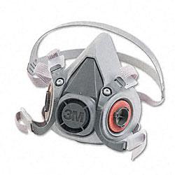 3M Half Facepiece Respirator 6000 Series (Medium)