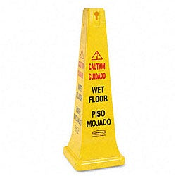 Shop Rubbermaid English Spanish Wet Floor Safety Cone