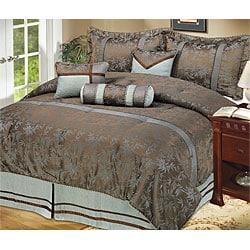 Asia 7-piece Comforter Set - Thumbnail 0