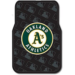 Oakland Athletics Car Floor Mats (Set of 2)