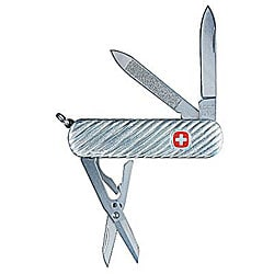 Sterling Silver Swiss Army 5-tool Knife - Thumbnail 0