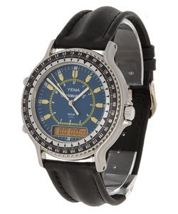 d906d96d5 Shop Yema by Seiko of France Men's Analog/Digital Sport Watch - Free ...