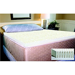 Shop Luxury Latex Full-size Mattress Topper - Free ...