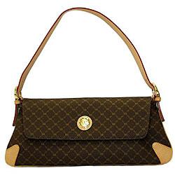 Rioni Signature Flap Shoulder Bag