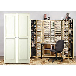 the scrap box armoire free shipping today 11558932. Black Bedroom Furniture Sets. Home Design Ideas