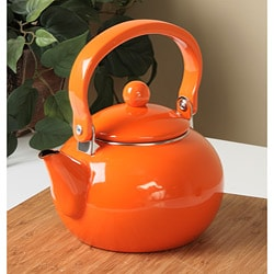 Reston Lloyd Orange 2-quart Teakettle