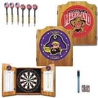 NCAA College Logo Dart Cabinet Set