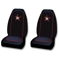 Betty Boop Rock Star Car Bucket Seat Covers Set Of 2