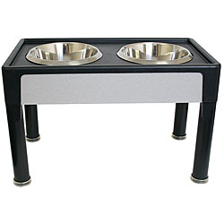 Signature Series 14-inch Black Pet Diner